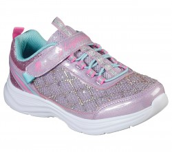 Girls S-Lights Glimmer Kicks - Sophisticated Shine