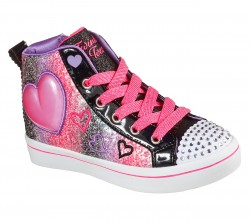 Girls Twinkle Toes Twi-Lites 2.0 - Heart Gem